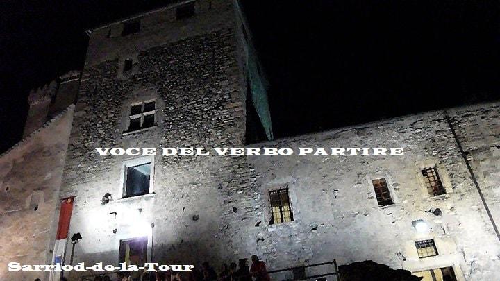 VEDERE IN VAL D'AOSTA IL CASTELLO DI SARRIOD-DE-LA-TOUR