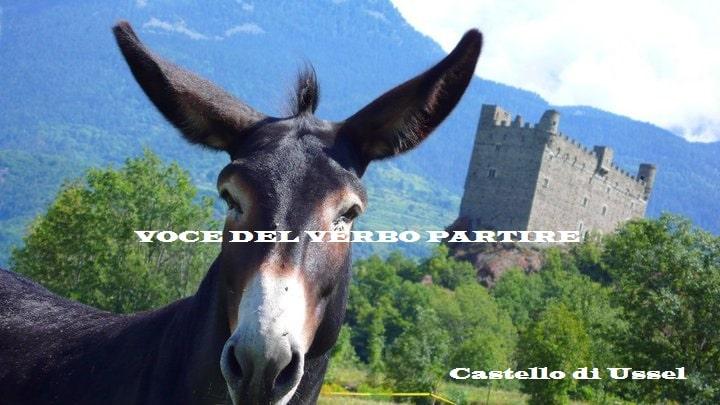 VEDERE IN VAL D'AOSTA IL CASTELLO DI USSEL
