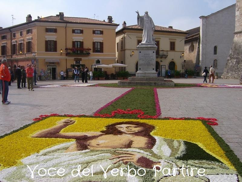 """Itinerario di due giorni in Umbria, lungo la """"strada dei fiori"""""""