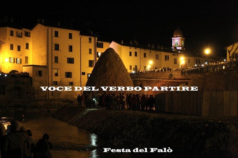 I RIONI DE LA FESTA DEL FALÒ