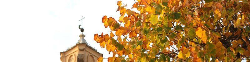 Visitare Spello in un giorno d'autunno