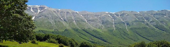 Itinerario in moto nel Parco Nazionale della Majella