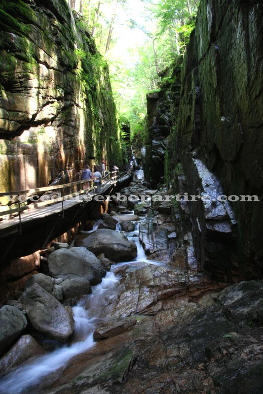 WHITE MOUNTAIN NATIONAL FOREST IN DUE GIORNI: THE FLUME GORGE