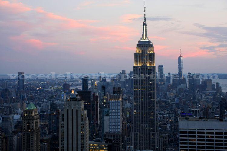VEDERE IL TRAMONTO A NEW YORK