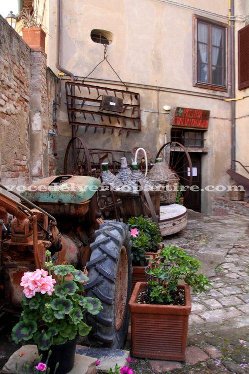 VEDERE IN VALDERA IL MUSEO DELLA CIVILTà CONTADINA