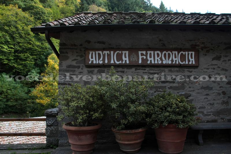 COSA VEDERE A CAMALDOLI L'ANTICA FARMACIA